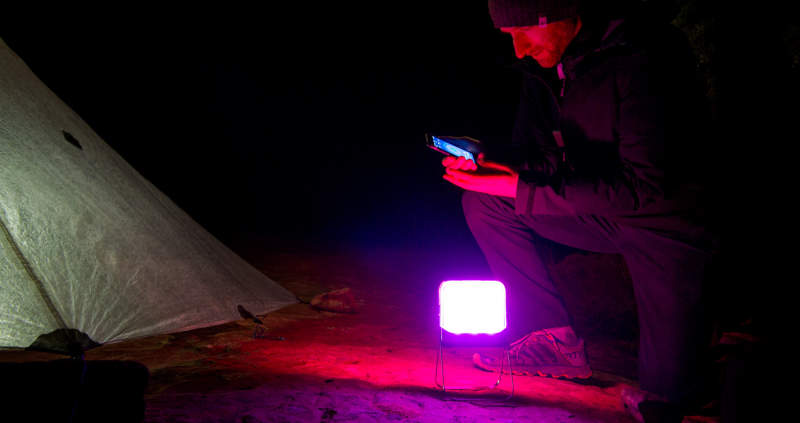 BioLite BaseLantern XL: Smartphone-controlled camping light that doubles as power bank
