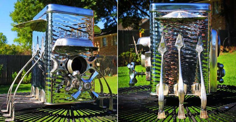 Birdhouses by Artist Brain Carlisle