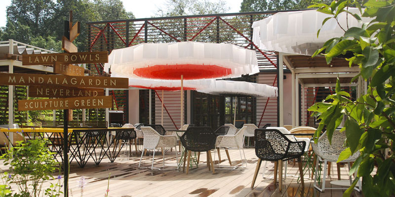 Bloom Parasol by Davy Grosemans and Sywawa