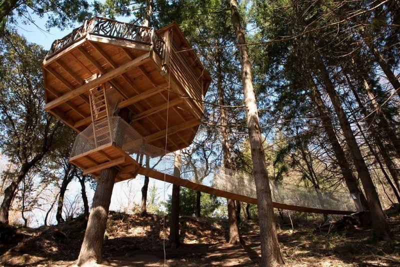 Cabanes Als Arbres- Spain
