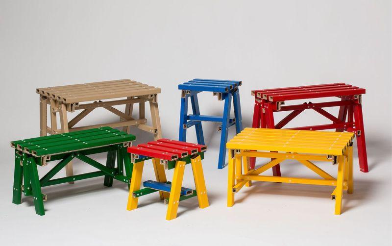 Seoul-based studio PESI tables