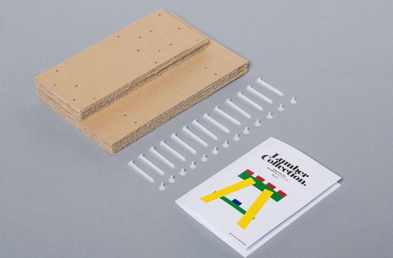 Seoul-based studio PESI designed a Lumber table
