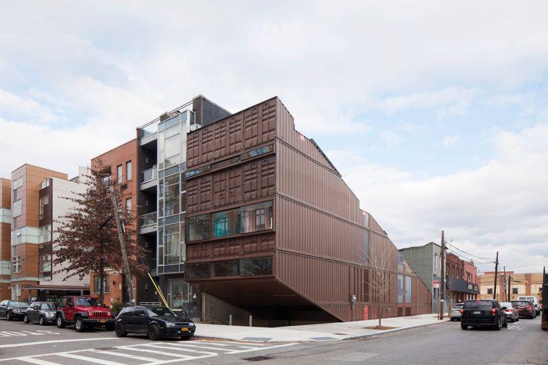 Carroll House in Brooklyn by LOT-EK