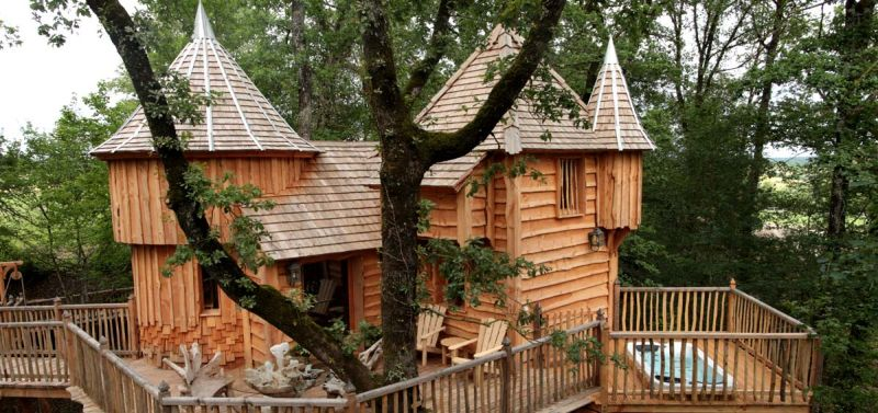 Chateaux Arbres treehouses – France