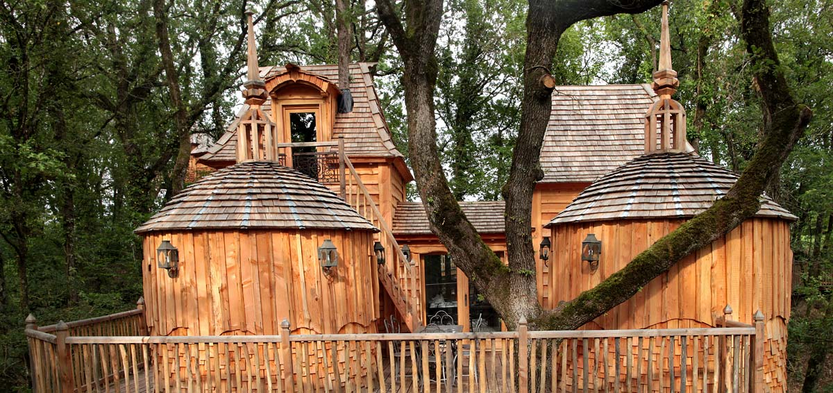 Chateaux Arbres treehouses