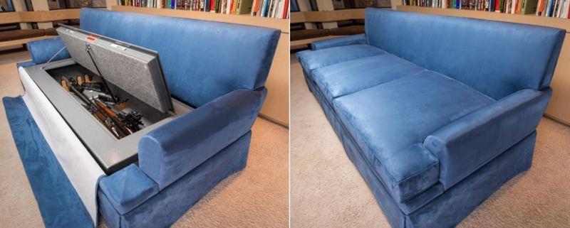 bullet-resistant sofa safe for guns