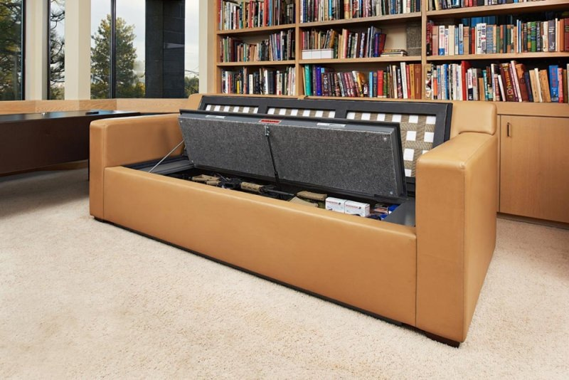 Couch Bunker by Heracles Research Corporation