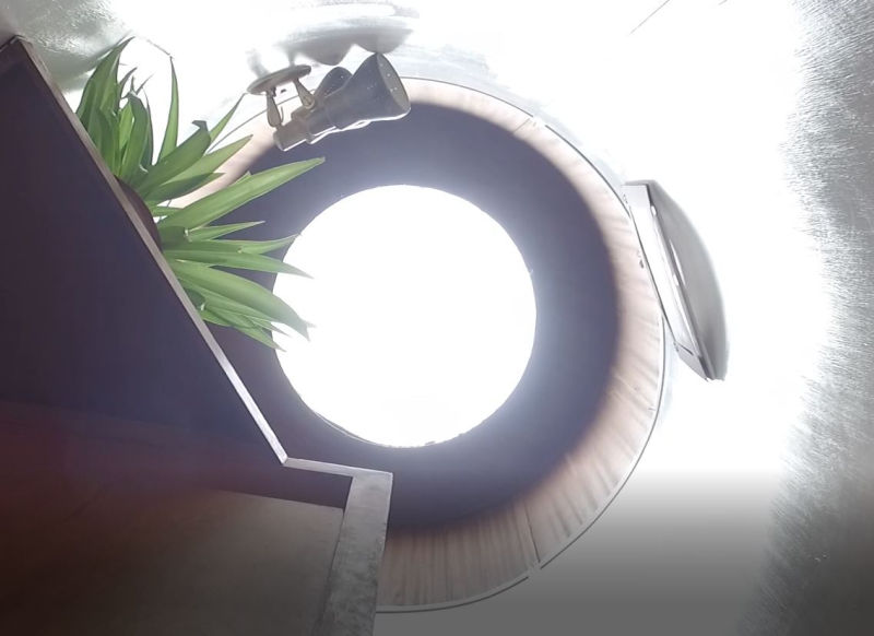 DIY'er installs Arduino-powered mechanical iris skylight in his home