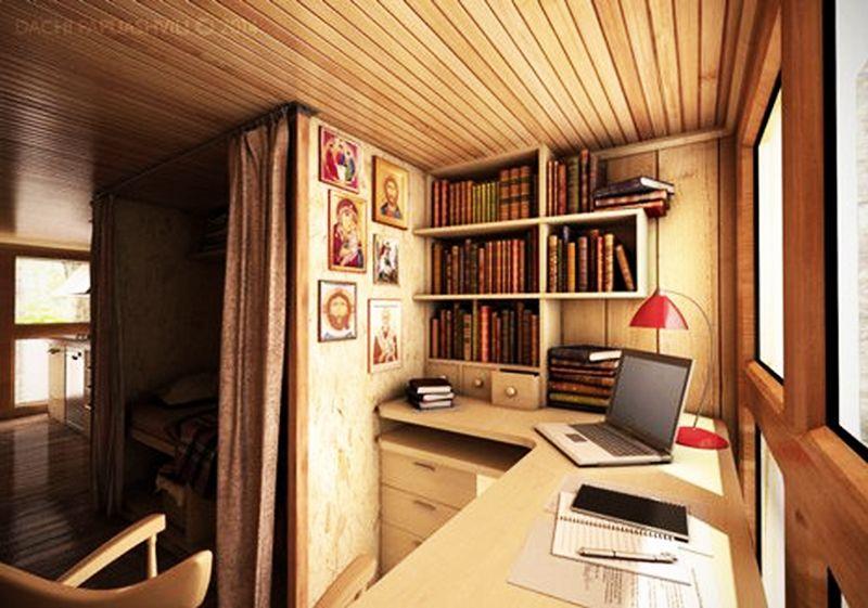 cross-shaped micro home