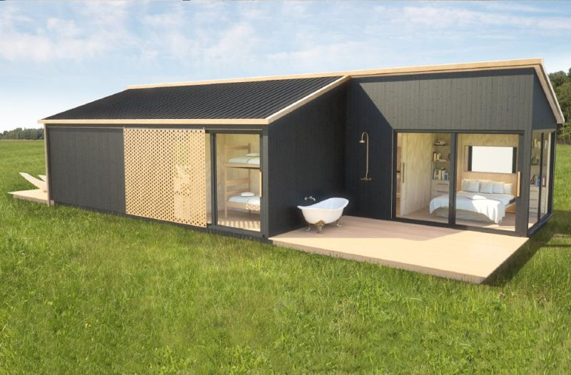 Build a fully functional home for under 100 000 with eco pod for Build a house for under 100k