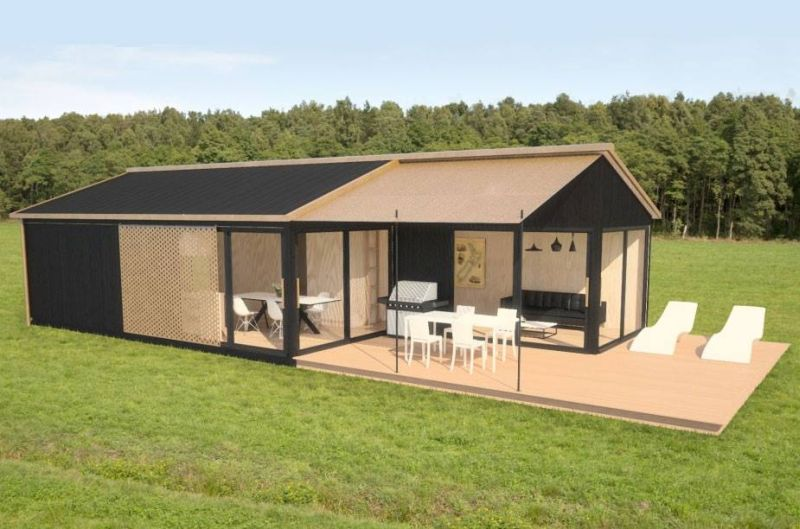 Build a fully functional home for under 100 000 with eco pod for Eco efficient homes