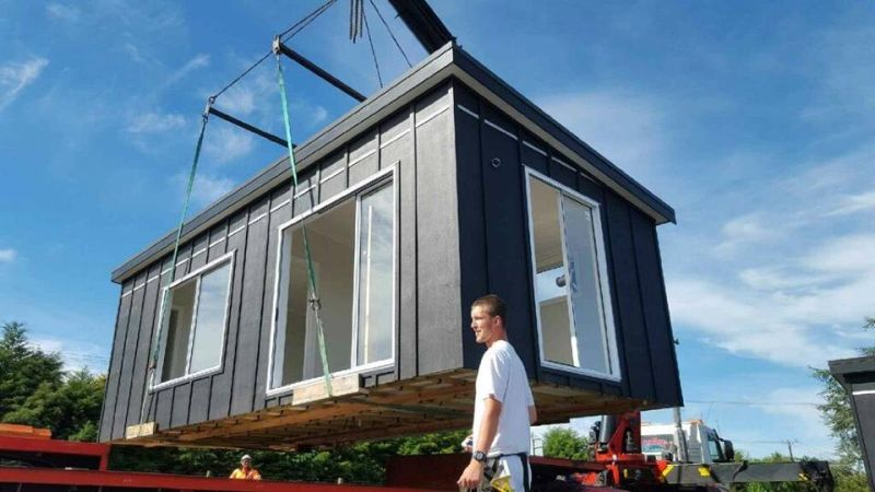 pod house takes maximum four weeks to complete