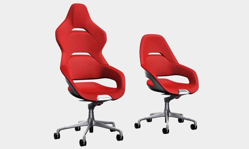 Feel the Ferrari experience in your office with Cockpit chairs