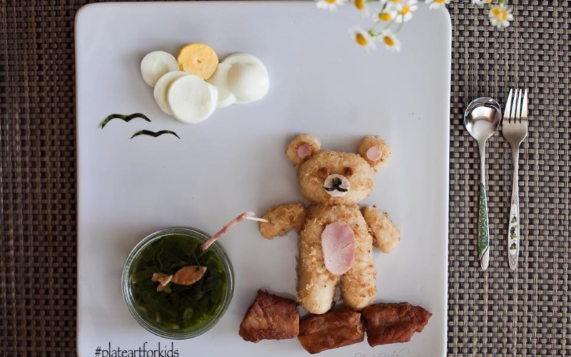 Mom creates mouth-watering food art so her kid could be less choosy with food