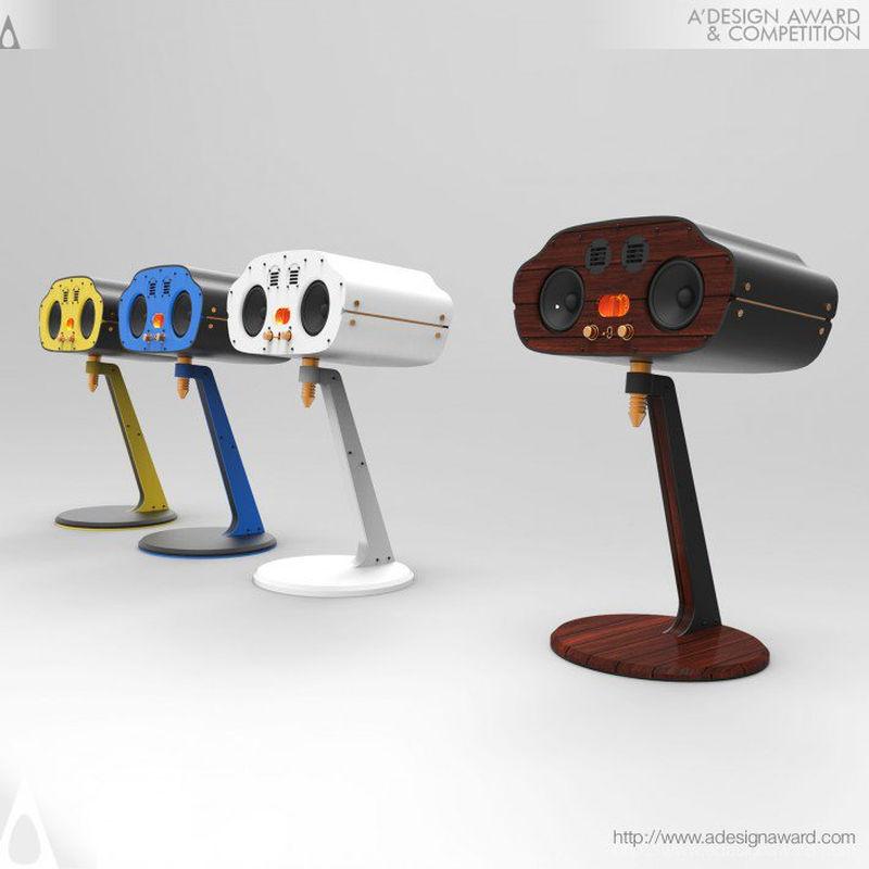 Golden Bug speaker by Han Sung-Jae of Analogizm