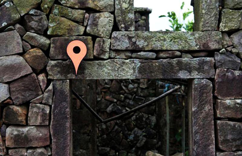 Google Maps Inspired Birdhouse