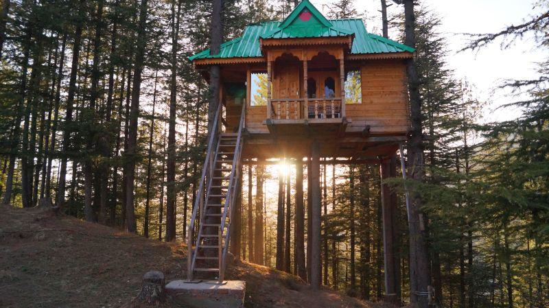 Himalayan Bliss Treehouse Fagu Shimla