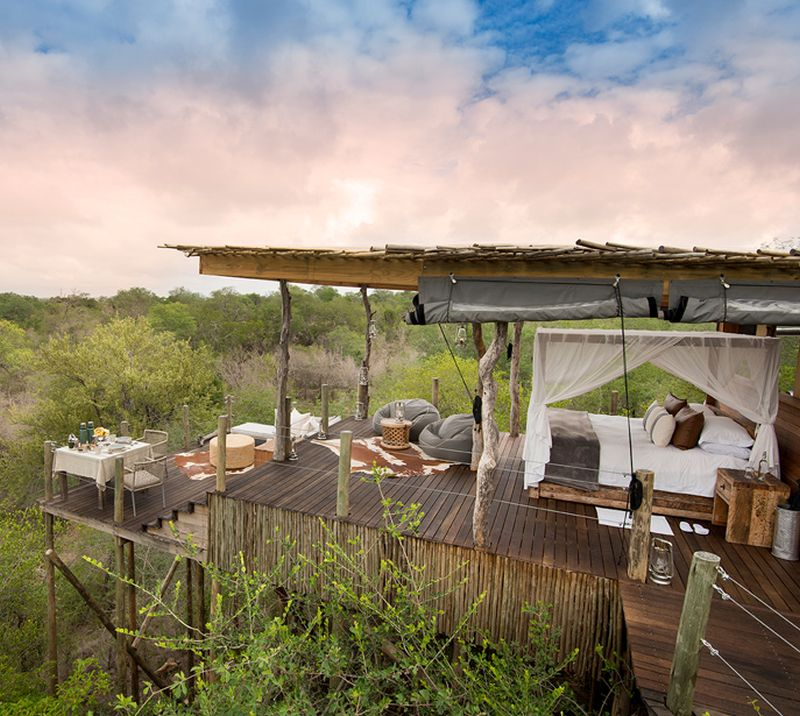 Kingston Treehouse at Lion Sands Game Reserve, South Africa
