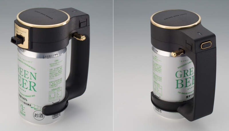 Love frothy beer? This portable beer server is for you