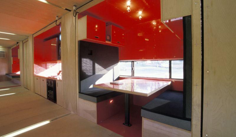 MDU (Mobile Dwelling Unit) interior