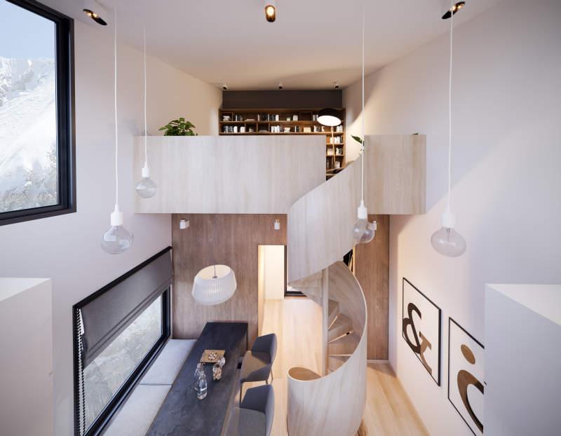 Manofactory Designs Nestingbox Cliff House To Hang Over