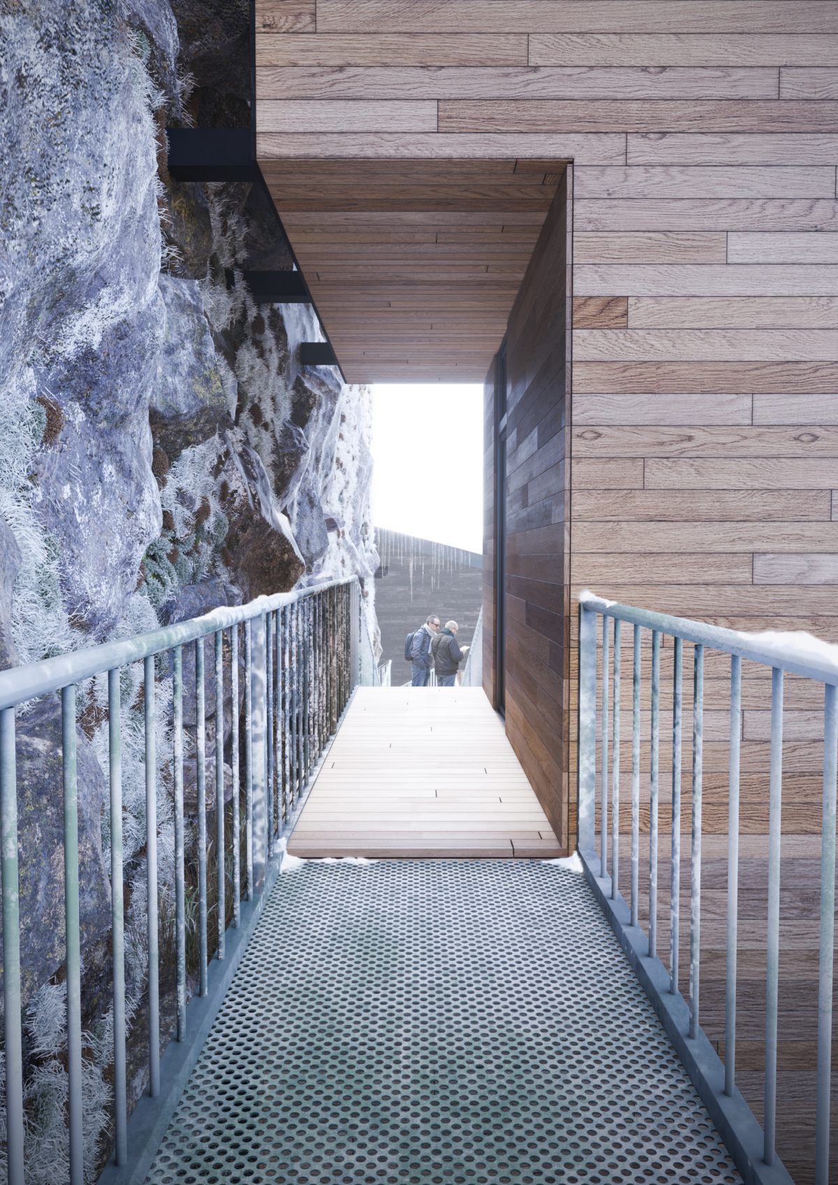 Manofactory Designs Nestingbox Cliff House To Hang Over