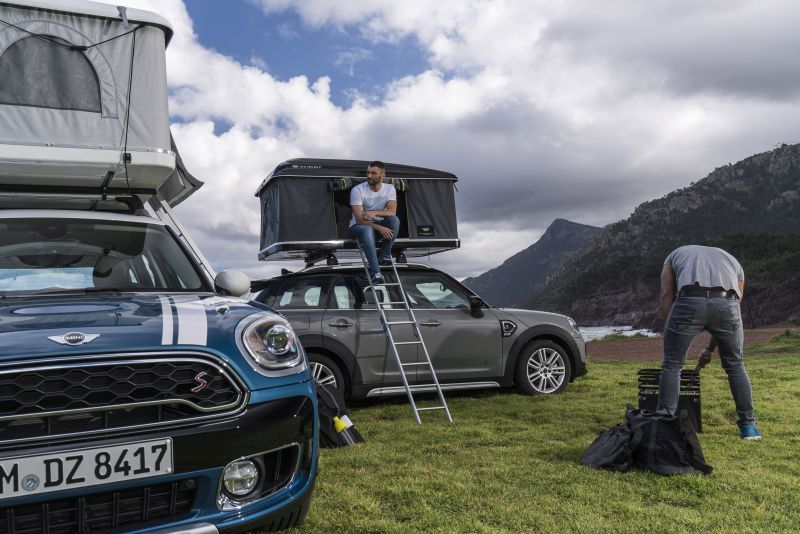 Mini Countryman Rooftop Tent & Mini Countryman Rooftop Tent-1 - HomeCrux