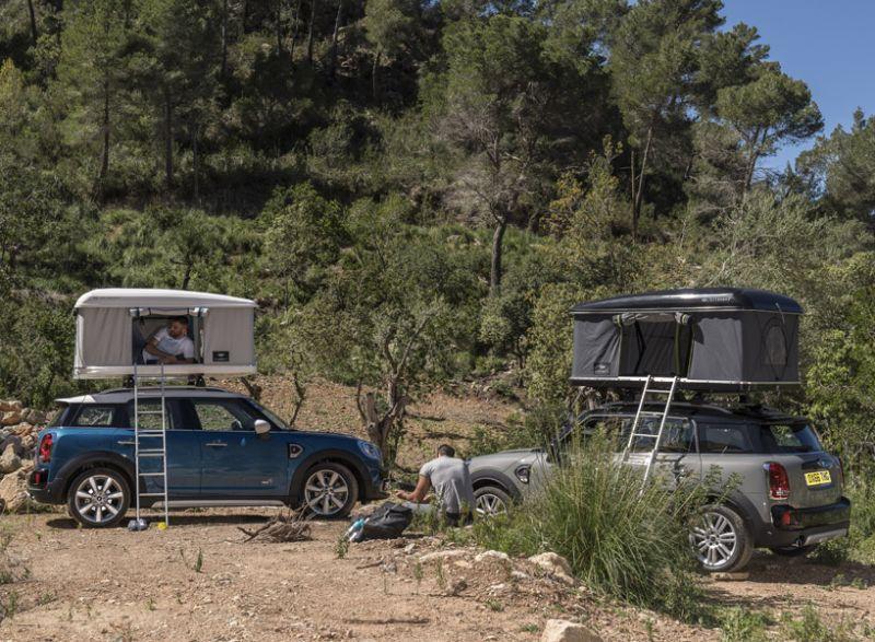 Mini Countryman Rooftop Tent & Mini Countryman Rooftop Tent-9 - HomeCrux