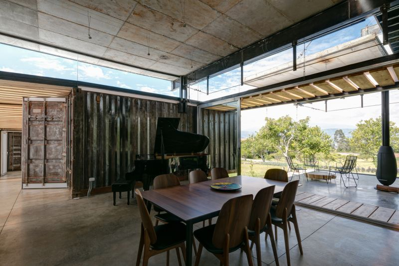 RDP Container House interior
