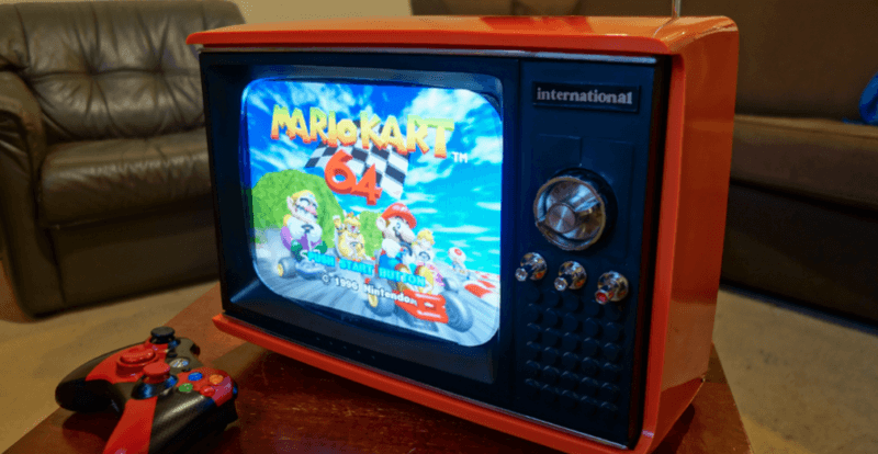 Raspberry Pi-powered retro gaming system