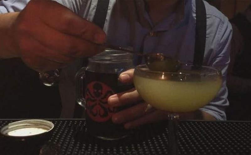 Romeo Palomares invents unusual cocktail with tarantula venom cocktail