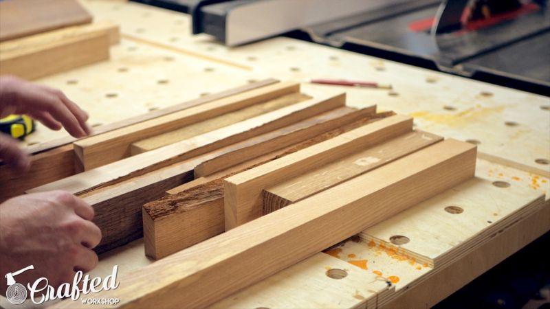 Scrap Wood End Table
