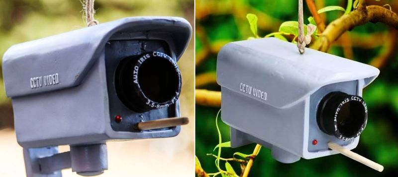 Security Camera Birdhouse 1