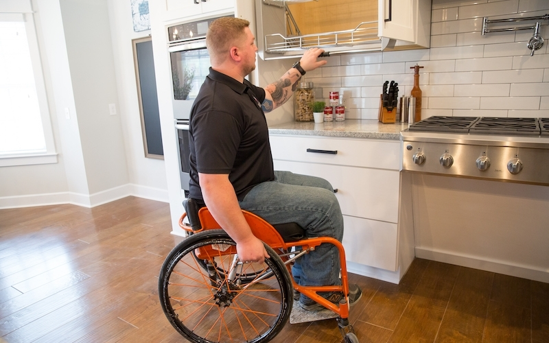Disabled American soldier gifted a smart home – Because war heroes deserve more than just a hug!