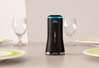 Smalt Salt Shaker has built-in speaker and mood lighting
