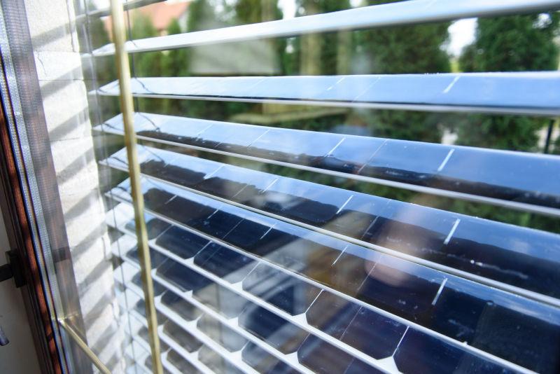 Solargaps Solar Blinds Filter Sunlight While Generating