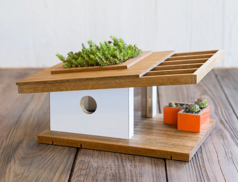 Sunset Modern Bird House