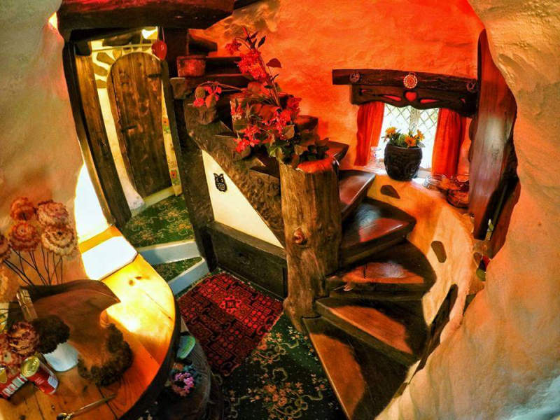 This hobbit home in Scotland looks like it belongs to the Shire