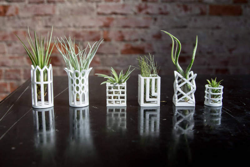 This mini planter chess set is lively art piece for your home