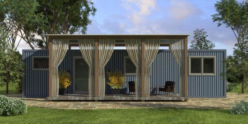 Keen development group's Tiny Container home