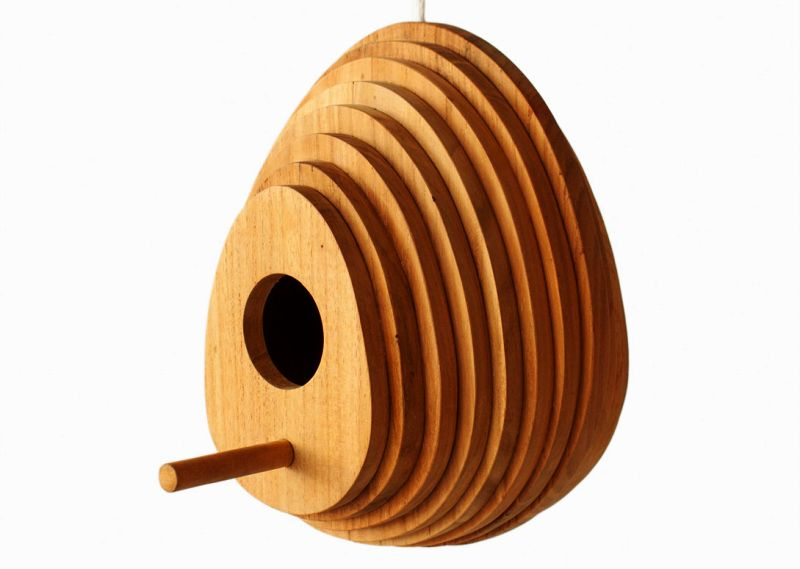 Tree Ring Birdhouse by Jarrod Lim