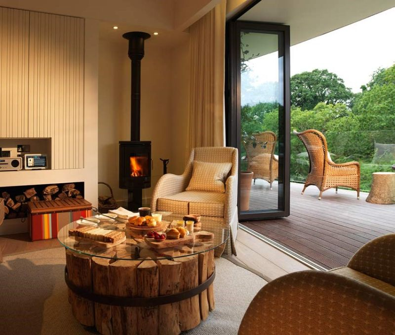 Treehouse Hideaway Suite at Chewton Glen Hotel & Spa in Hampshire, UK