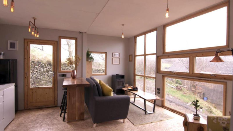 Uk Couple Builds Family Home Out Of Two Old Lorries In
