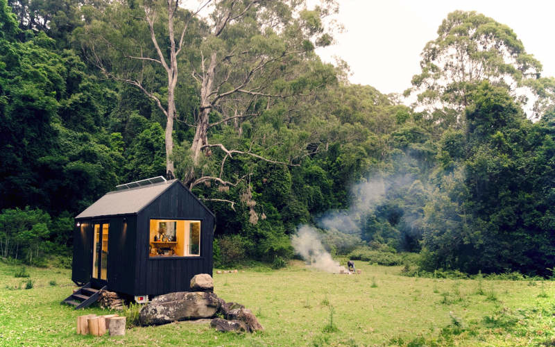Unyoked's Miguel tiny house can be rented for US$190/night