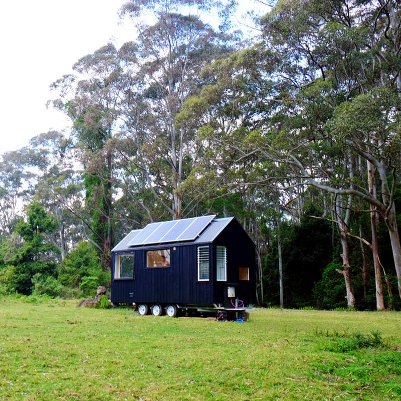 Unyoked's Miguel tiny house can be rented for US$190 per night