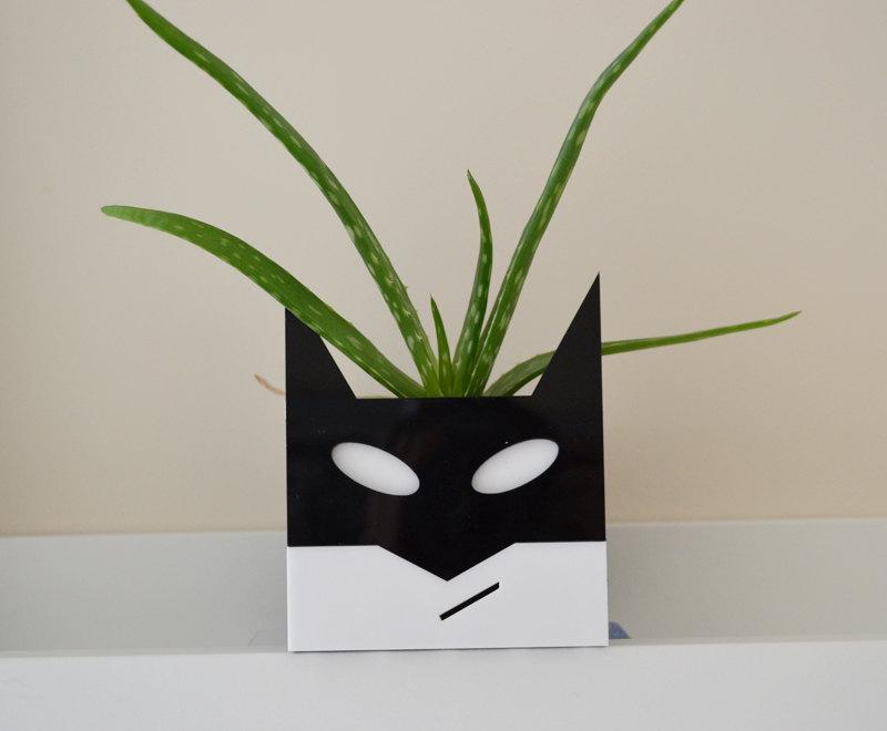 batman planter by Emma