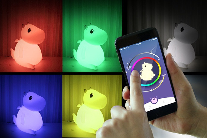 Smartphone-controlled Bero smart lamps are aesthetically appealing