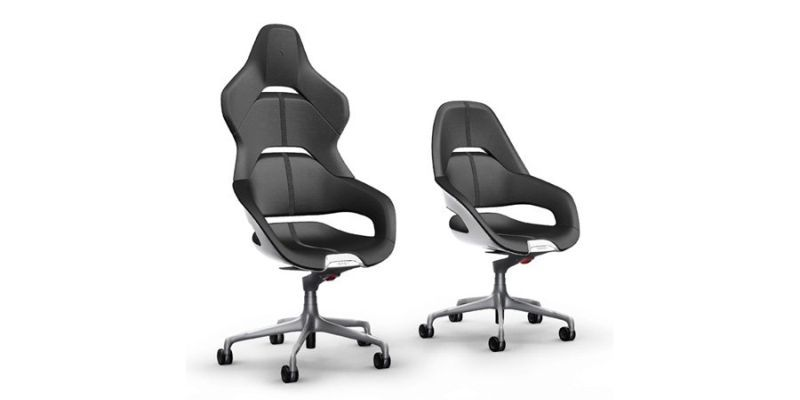 Cockpit chairs in Black