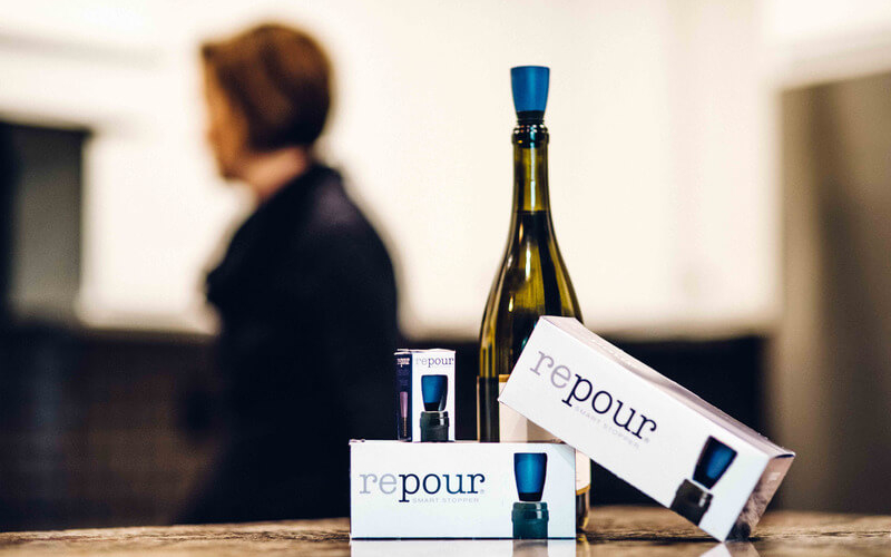 Repour Smart Stopper keeps opened wine fresh for at least six months