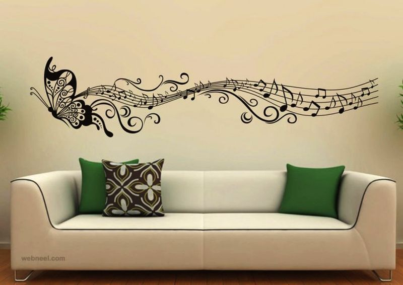 Musical-themed walls
